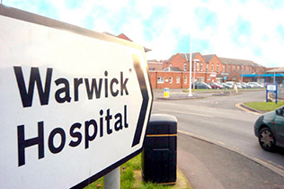 Warwick Hospital A&E Appeal - Chris Swan