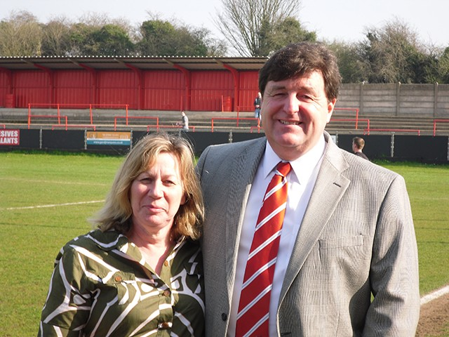 Chris Swan - Chairman and owner of Redditch United FC