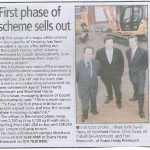 First phase of scheme sells out